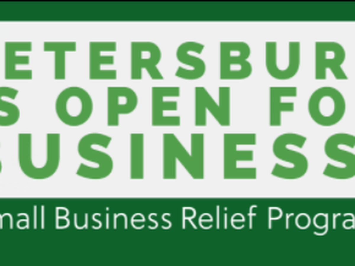 Application for COVID-19 relief for small businesses in Petersburg closes Friday