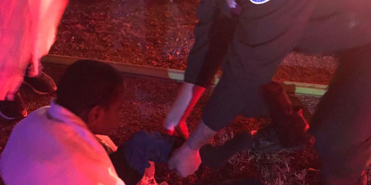 Richmond police officer provides socks for boy who escaped house fire