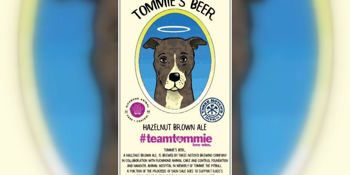 'Tommie's Beer' to help RACC care for animals in need