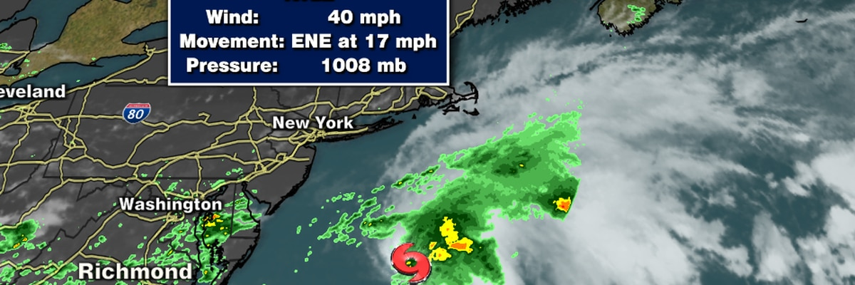 First Alert: Tropical Storm Kyle forms in the Atlantic