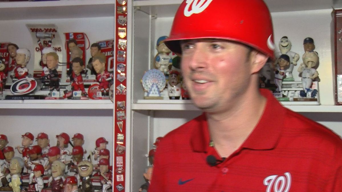 'I never thought I'd see this in my lifetime': Super fan 'Captain Natitude' ready to watch Nats in World Series