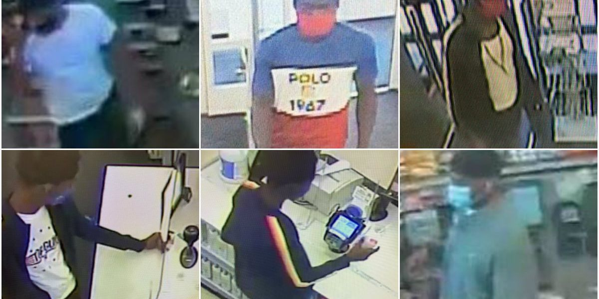 Police search for several suspects in connection to car break-ins, credit car fraud