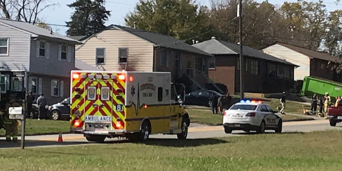 Basement fire spreads to first floor of Chesterfield home