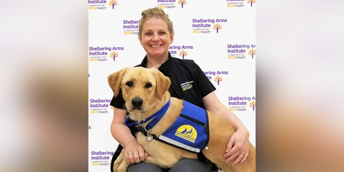 Four-legged team member joins Sheltering Arms Institute