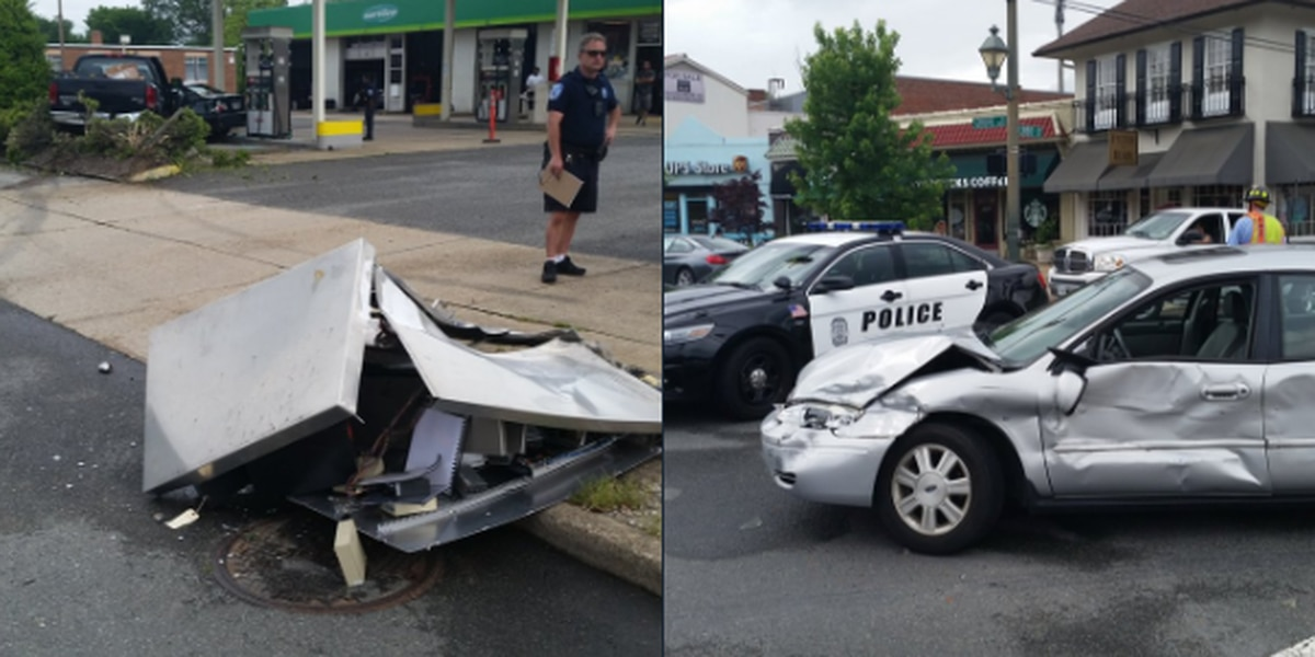 Car accidents shut down Richmond intersection during evening commute