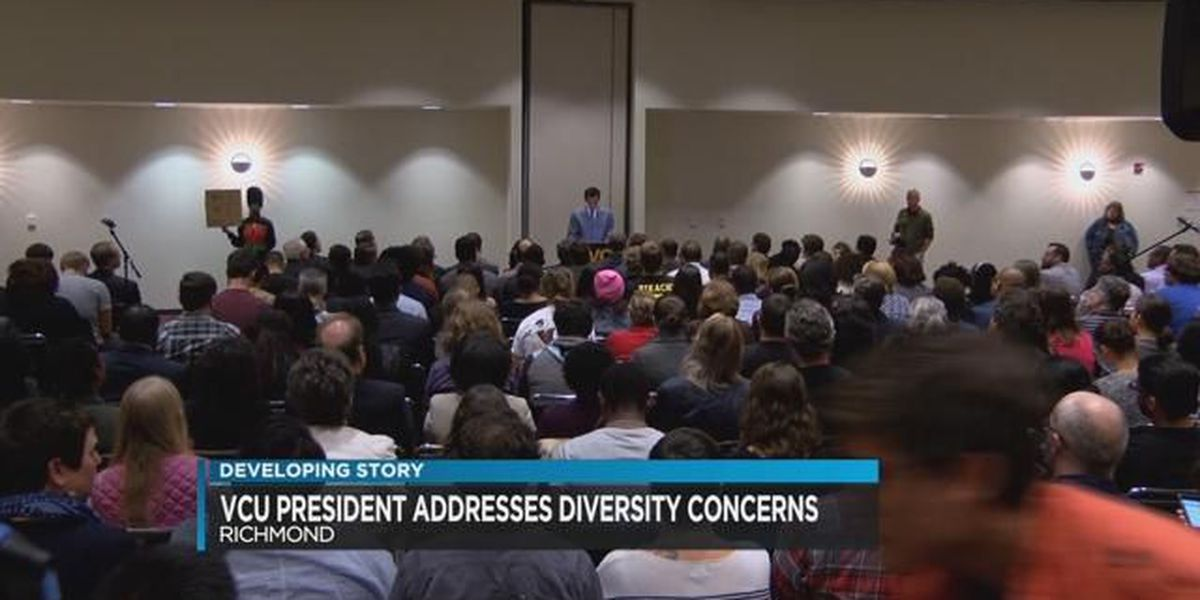 VCU President vows to address student and faculty concerns over diversity