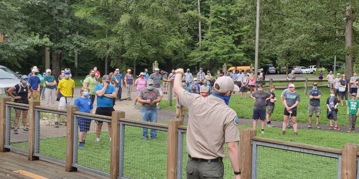 Hundreds of volunteers cleanup storm damage at State Park