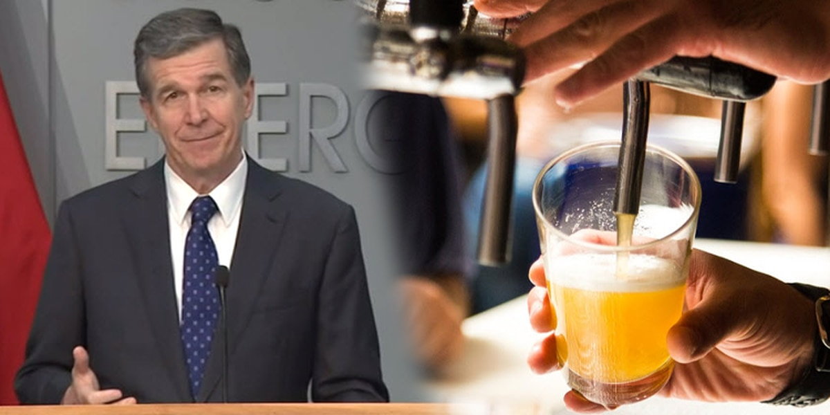 N.C. governor enacts statewide curfew on sale of alcohol at restaurants, bars remain closed