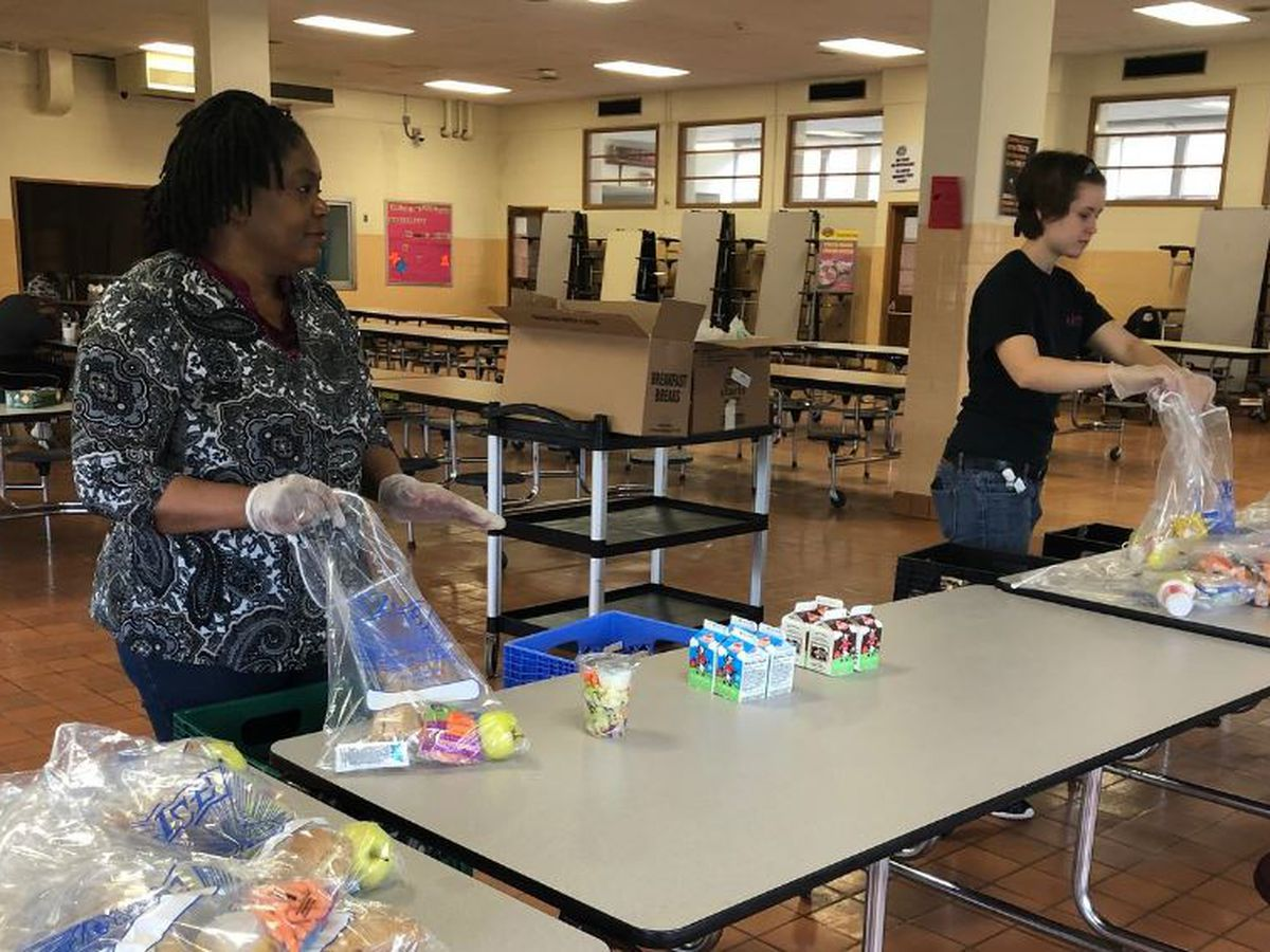 Schools, nonprofits hustle to feed over a half million Va. students: 'It's incredible'