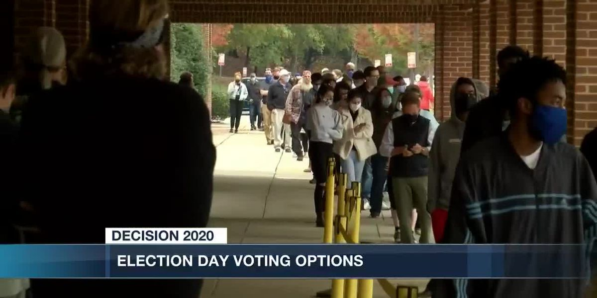 Election Day voting options