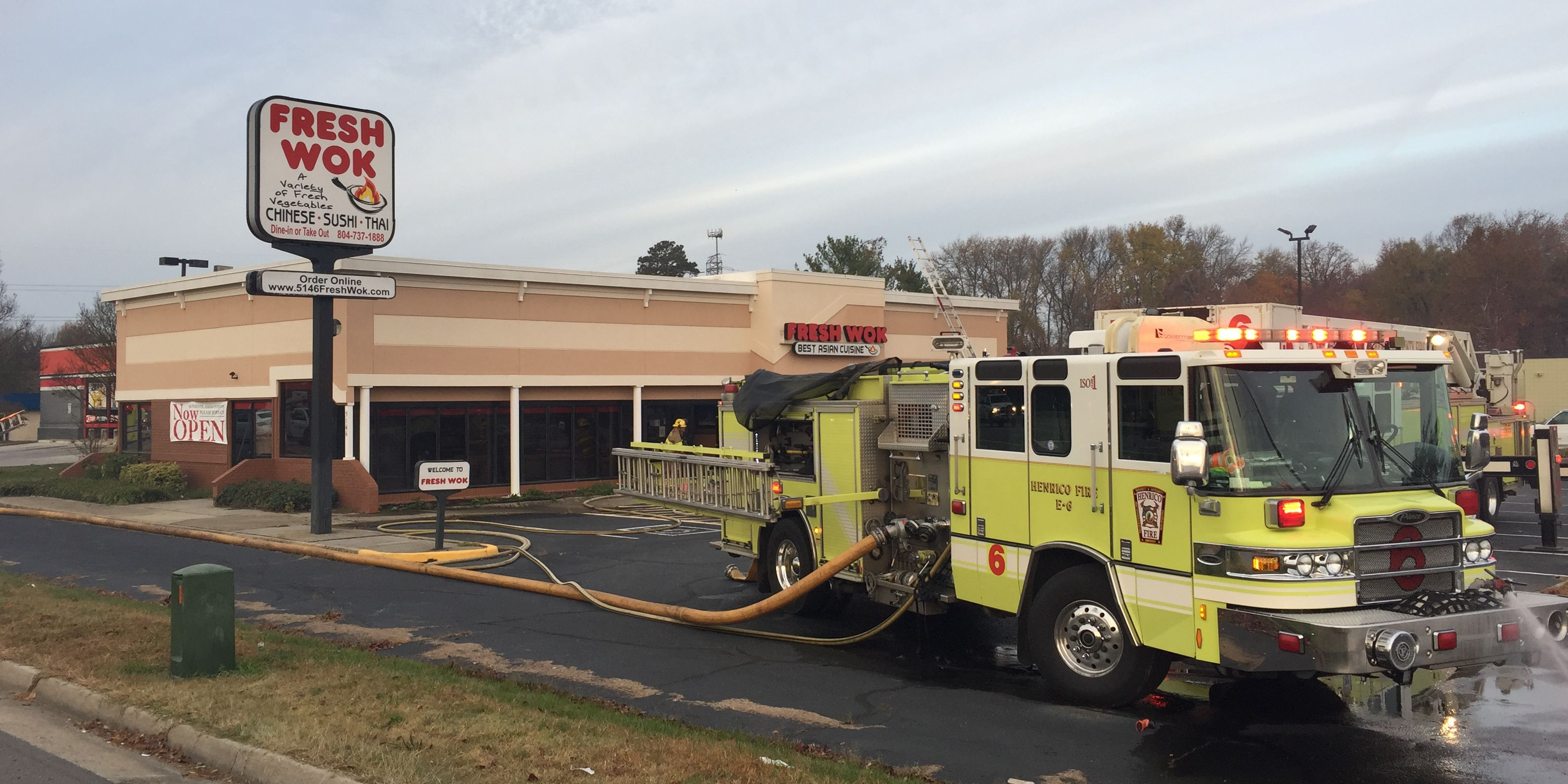 No one injured in early morning Henrico restaurant fire