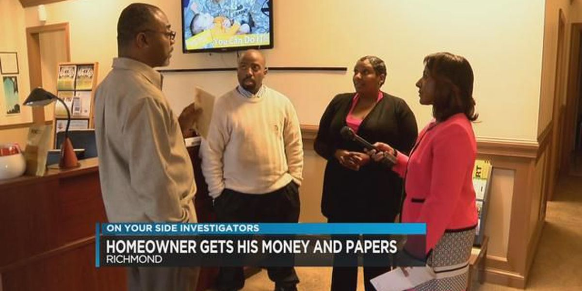 Richmond man gets money, documents he deserves from mortgage company
