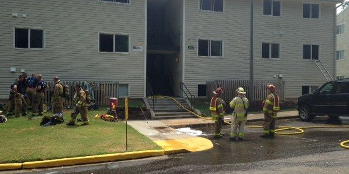 Fire damages Chesterfield apartment