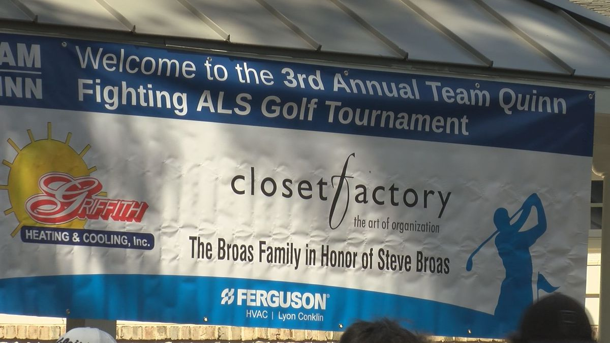 Team Quinn tees off to fight ALS