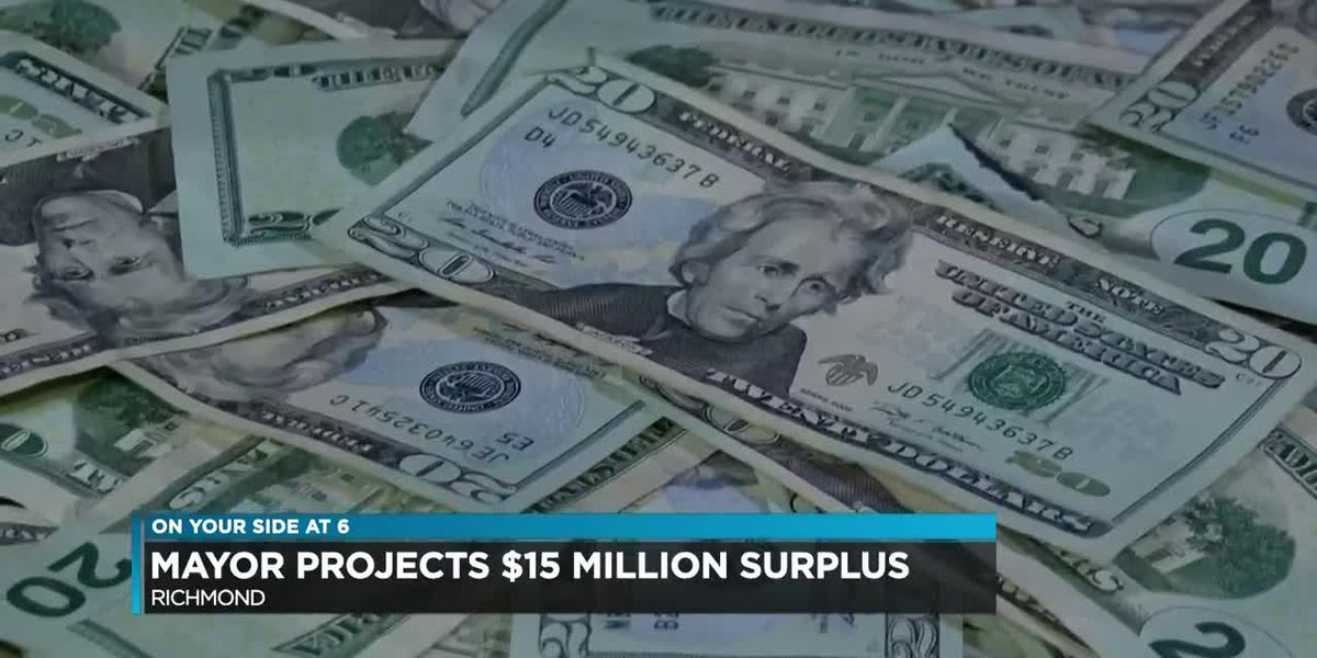 Mayor Levar Stoney announces projected $15M surplus