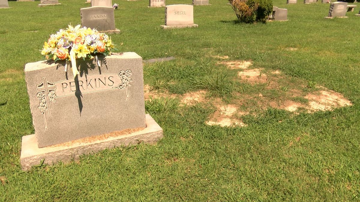 'She isn't at peace': Family upset with cemetery's empty promises