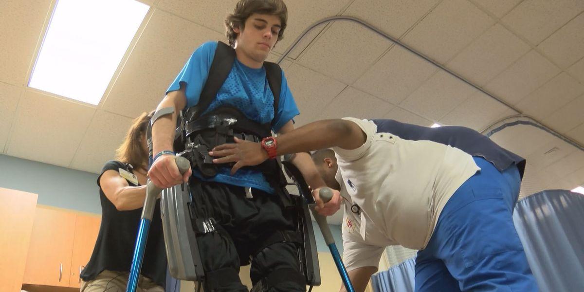 Robotics helps Richmond man walk again