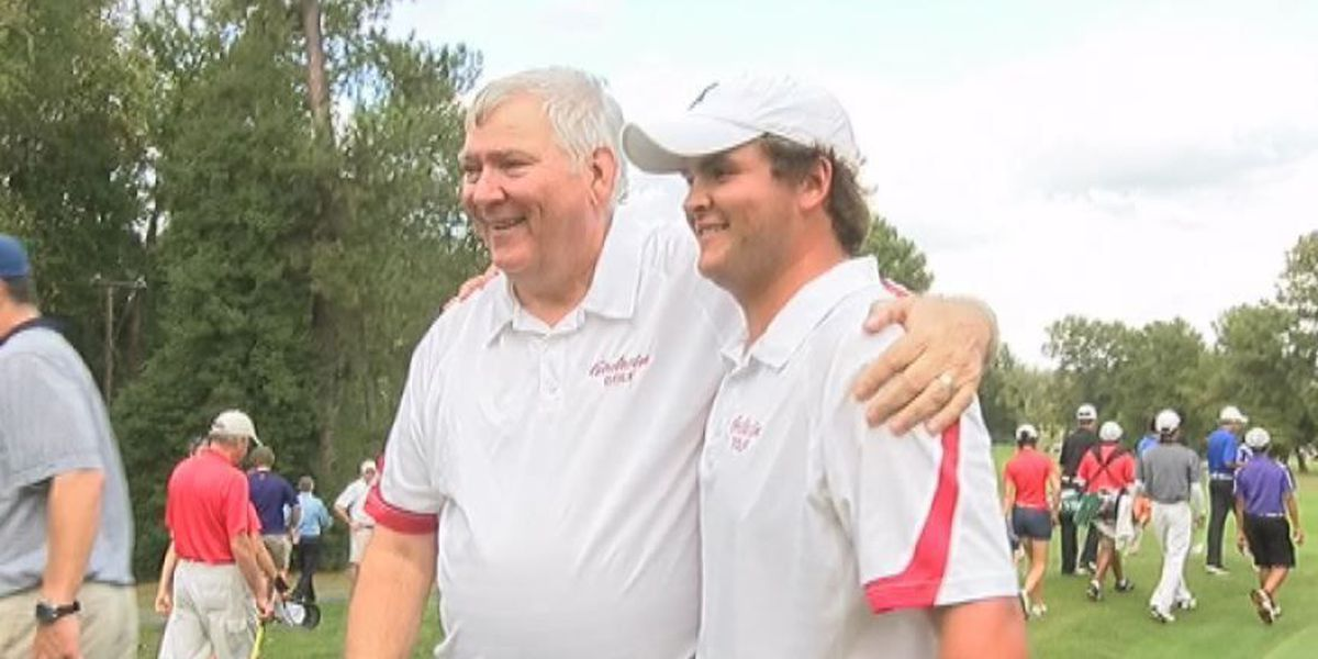 Godwin's Lawrence claims third state title on playoff hole