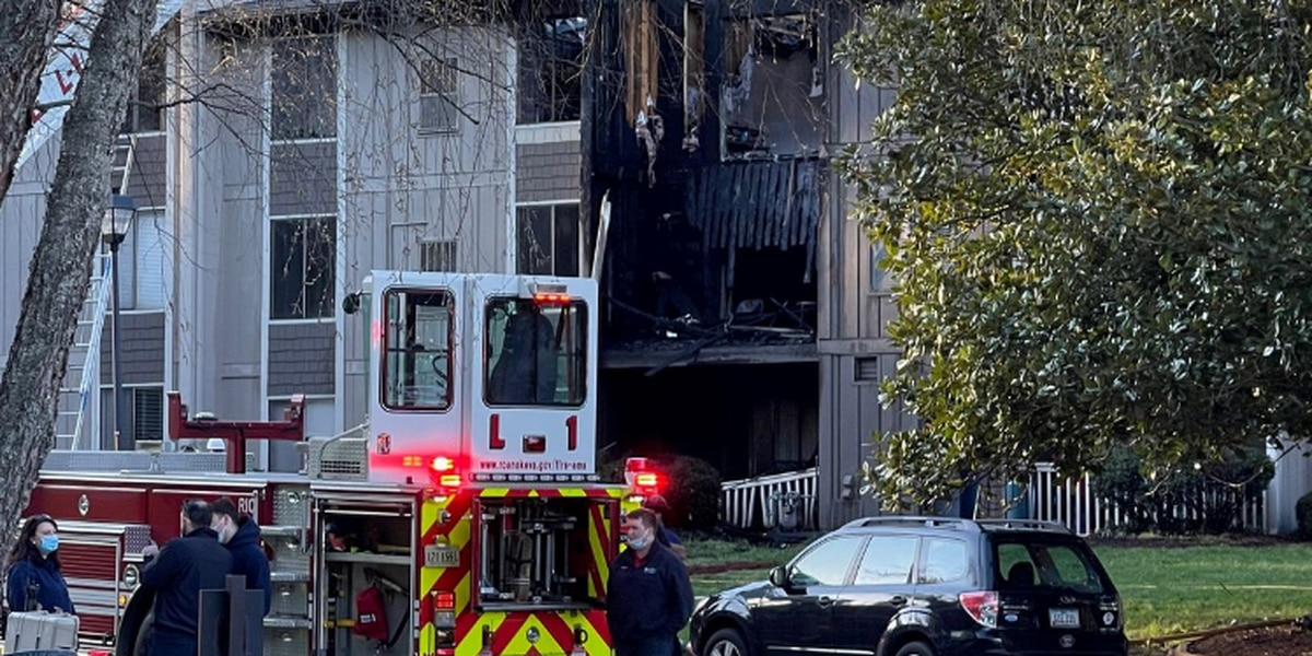 Roanoke apartment fire causes over $1.2 million dollars in damage