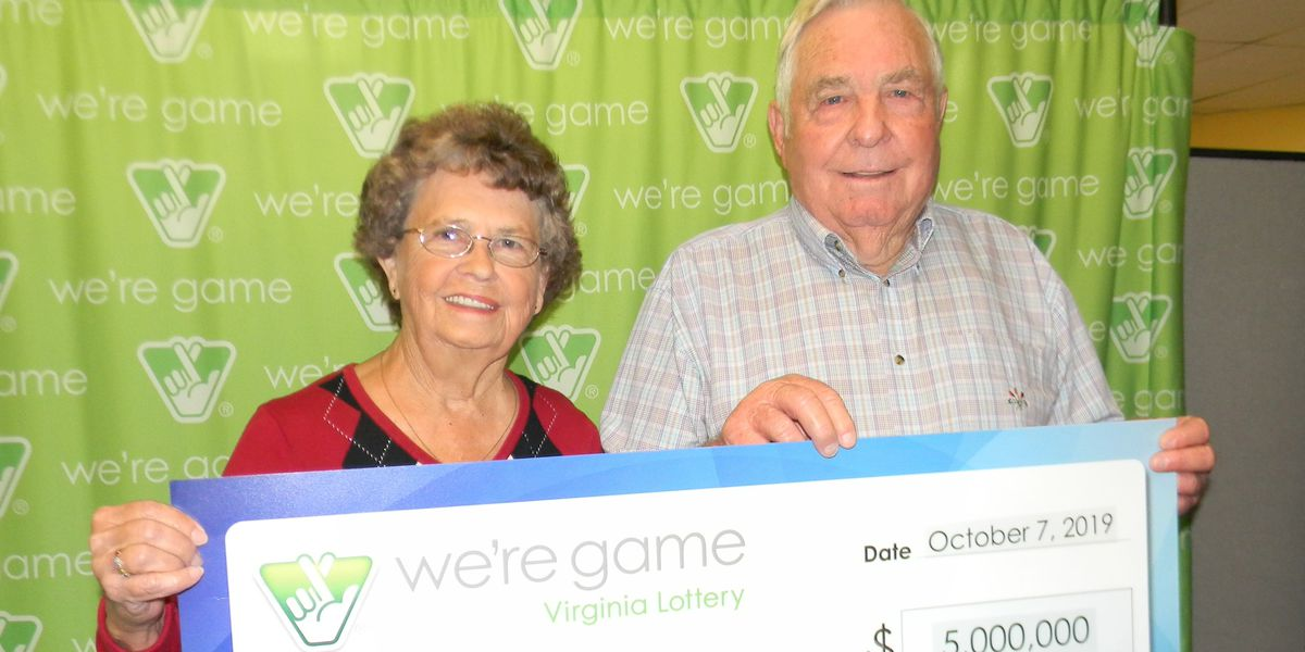 Couple wins $5 million in Virginia Lottery Scratcher game