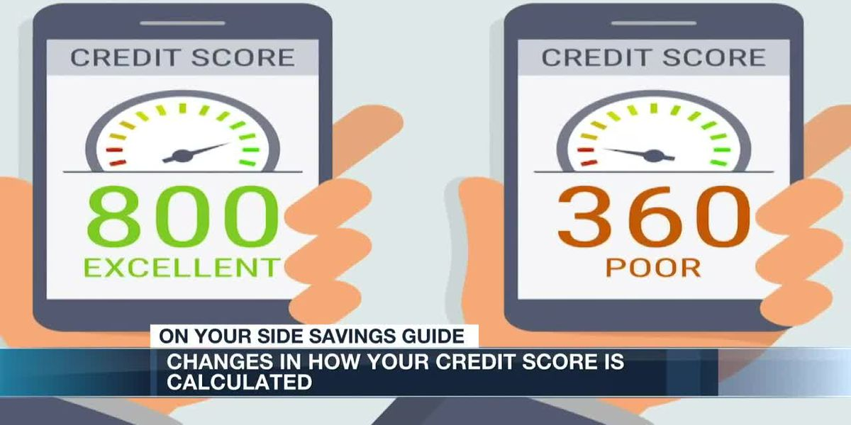 Changes to the way your credit score is calculated