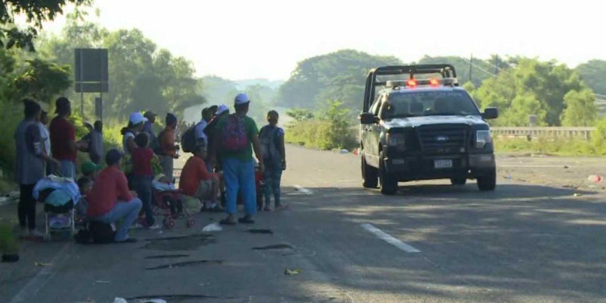 Troops may be sent to halt caravan at border