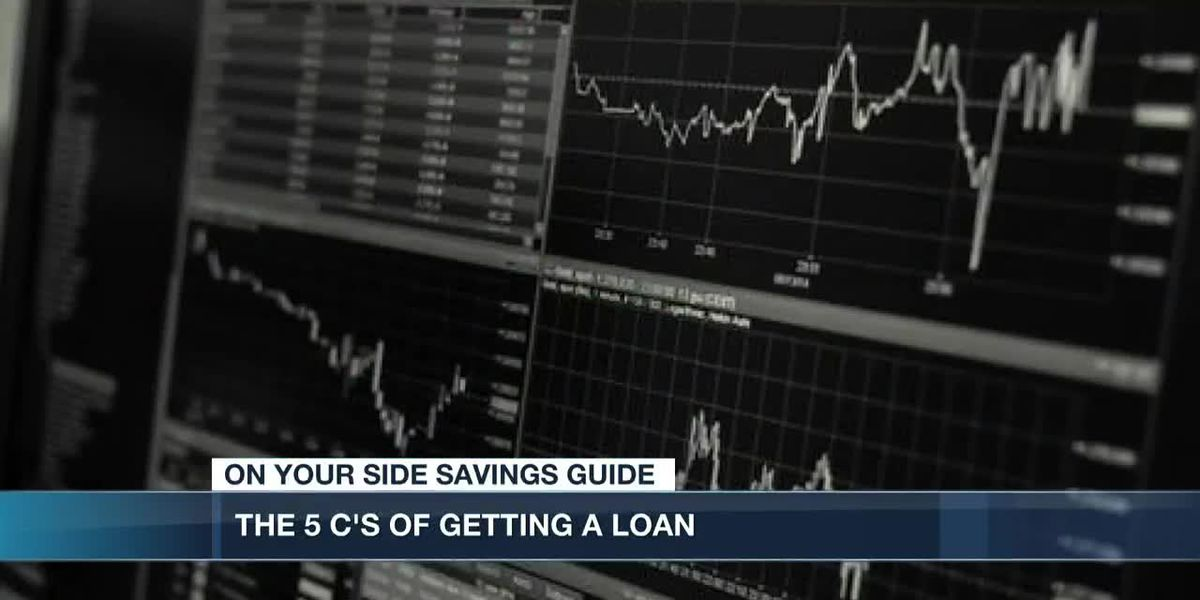 The 5 C's of getting a loan