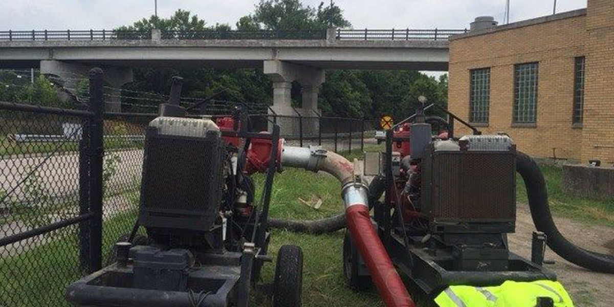 2 pumps in Petersburg's wastewater plant blow up