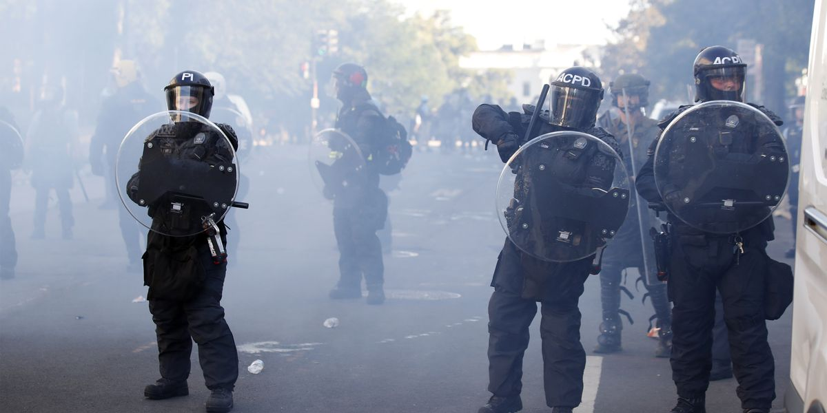 Injuries at protests draw scrutiny to use of police weaponry