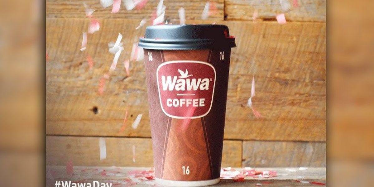 Grab free coffee at Wawa on April 11