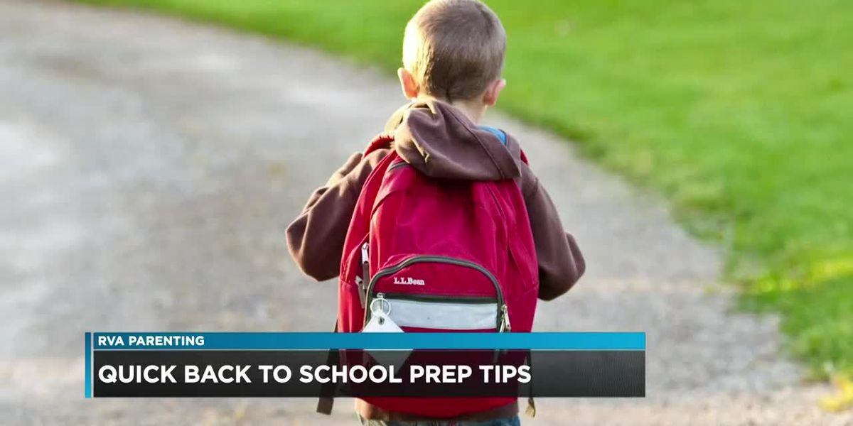 Back-to-school tips: Start changing your schedule, do prep work the night before