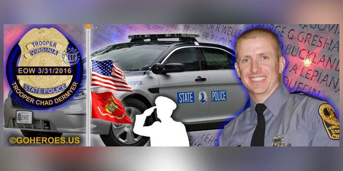 The Heroes Memorial Foundation hosts 'Lights On' event for fallen trooper