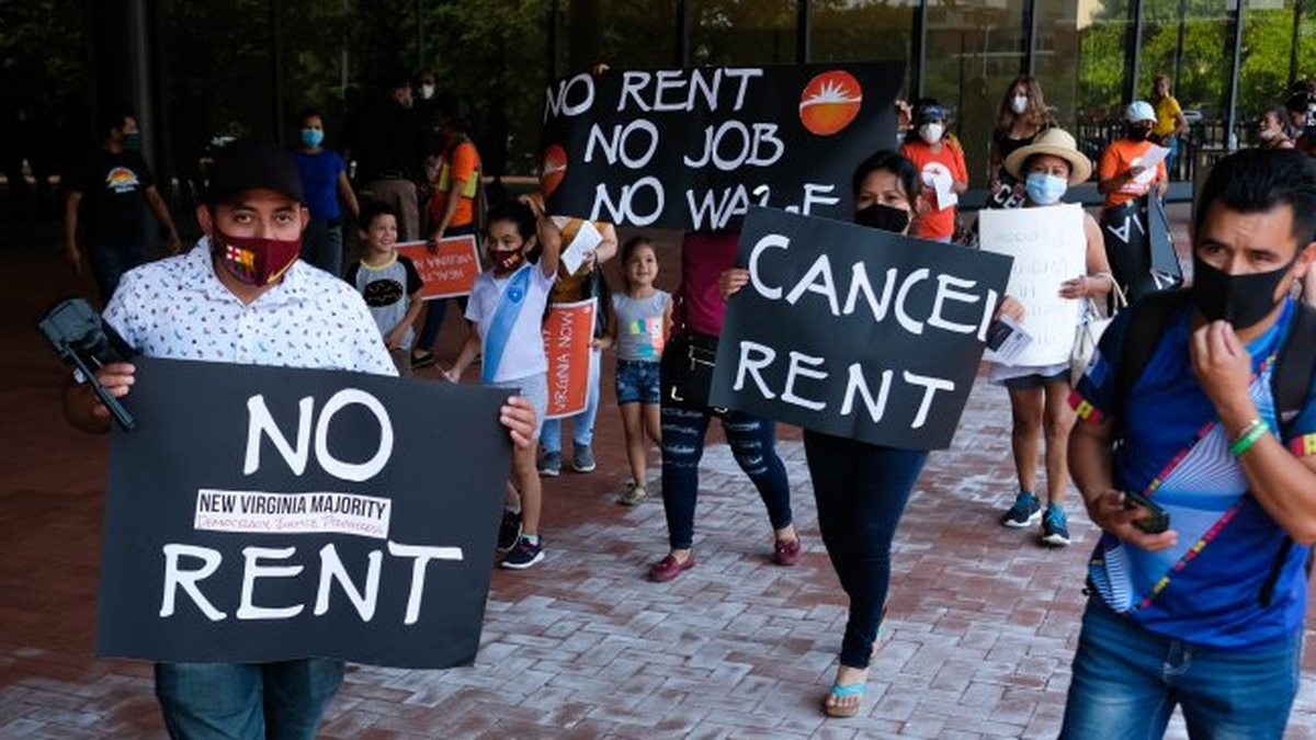 Evictions ramp up in Virginia as local courts decline governor's request to continue moratorium