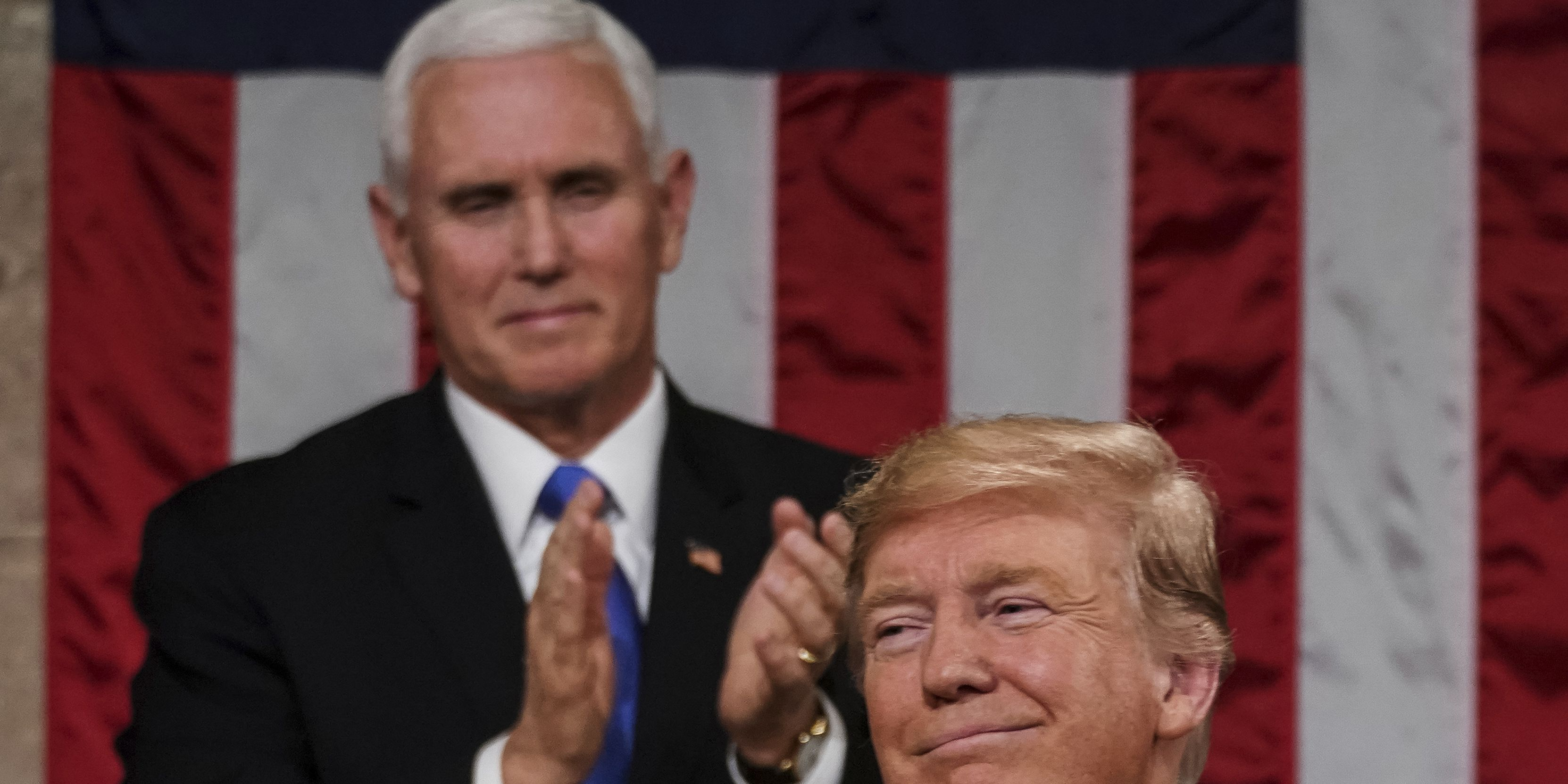 Trump touts economy, warns of border danger in State of the Union; Abrams says 'we owe more' to working class in Dem. response