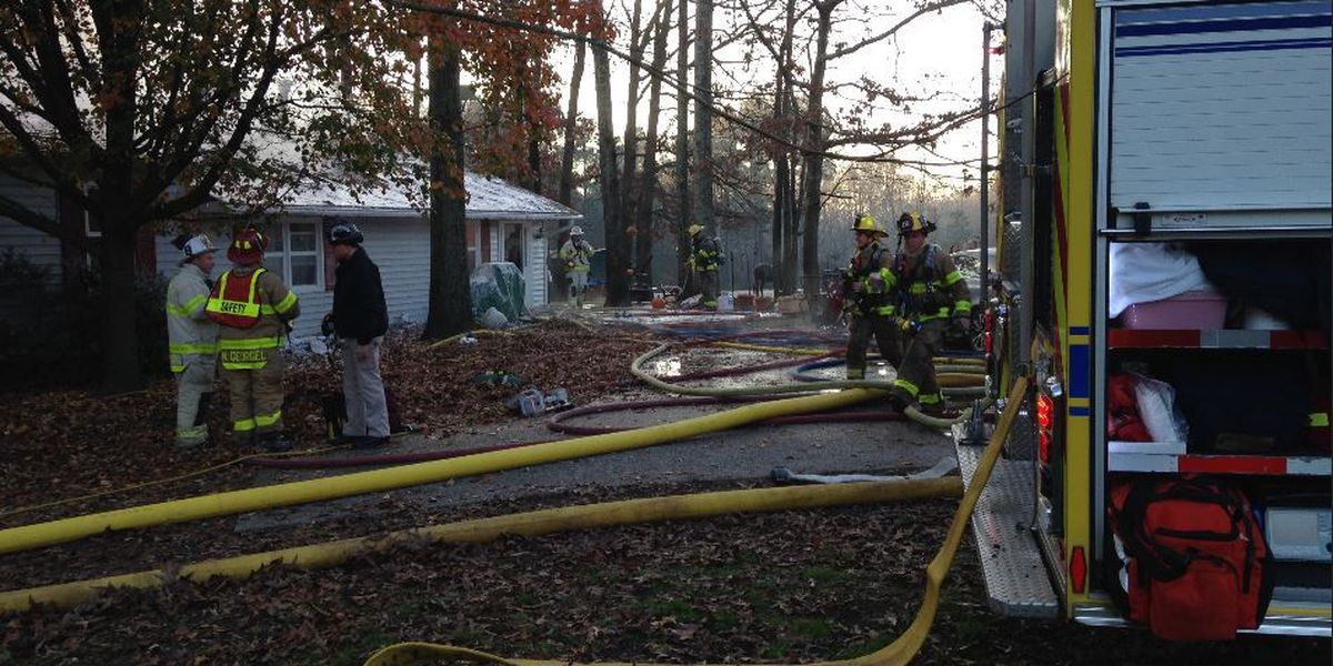 Red Cross assisting two after Chesterfield house fire