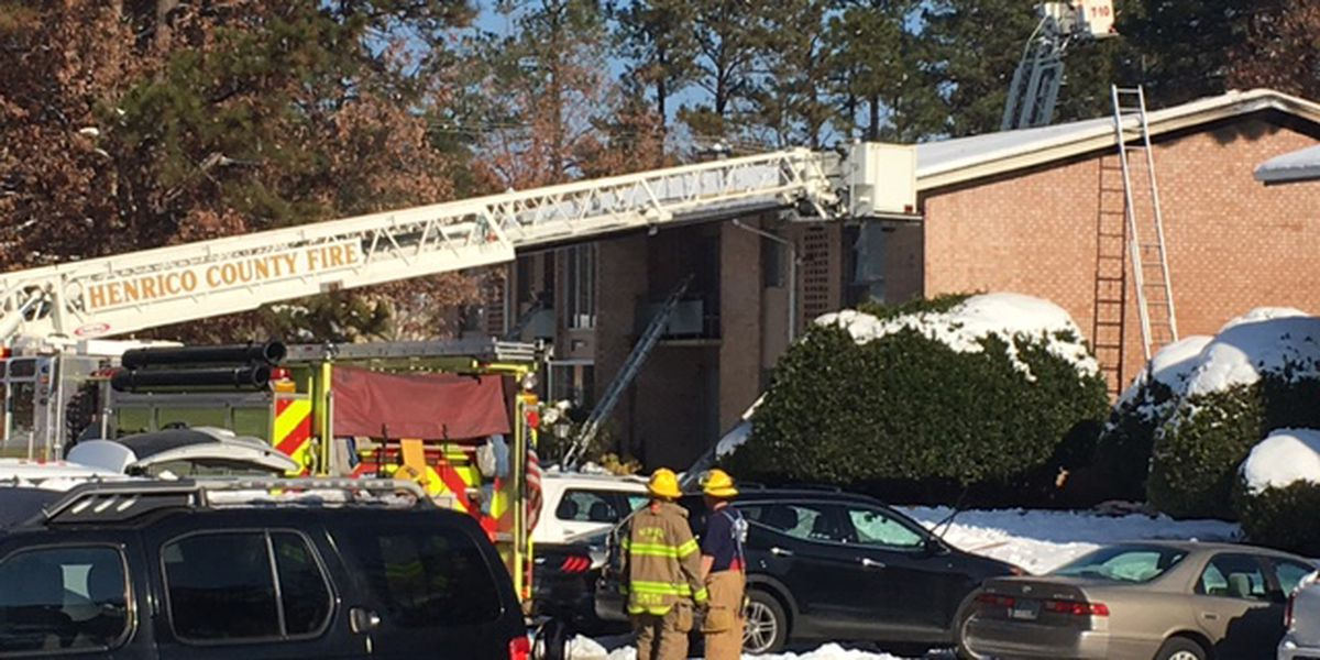 Woman rescued during Henrico fire; 4 treated for injuries