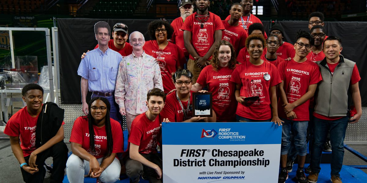 Four Richmond-area high schools compete in international robotics competition