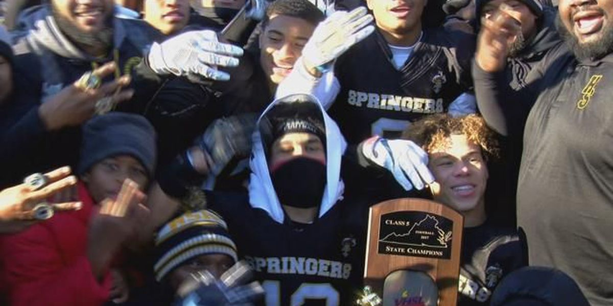 Highland Springs rolls past Tuscarora for third consecutive state championship