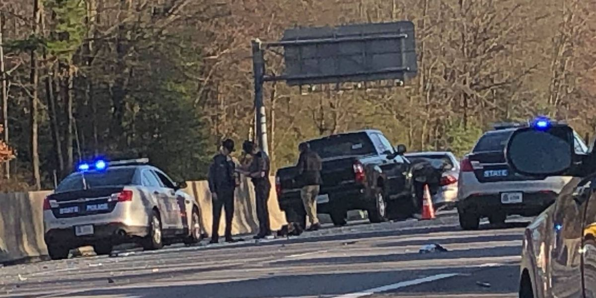 Police investigating 2 three-vehicle crashes on Route 150 in Chesterfield