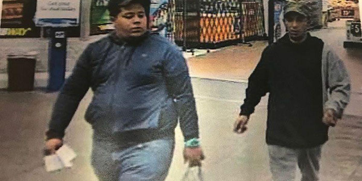 2 men accused of altering prices on Walmart merchandise