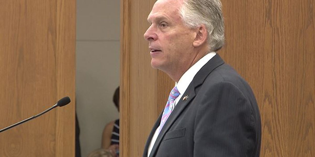 McAuliffe says he's not ruling out 2020 campaign