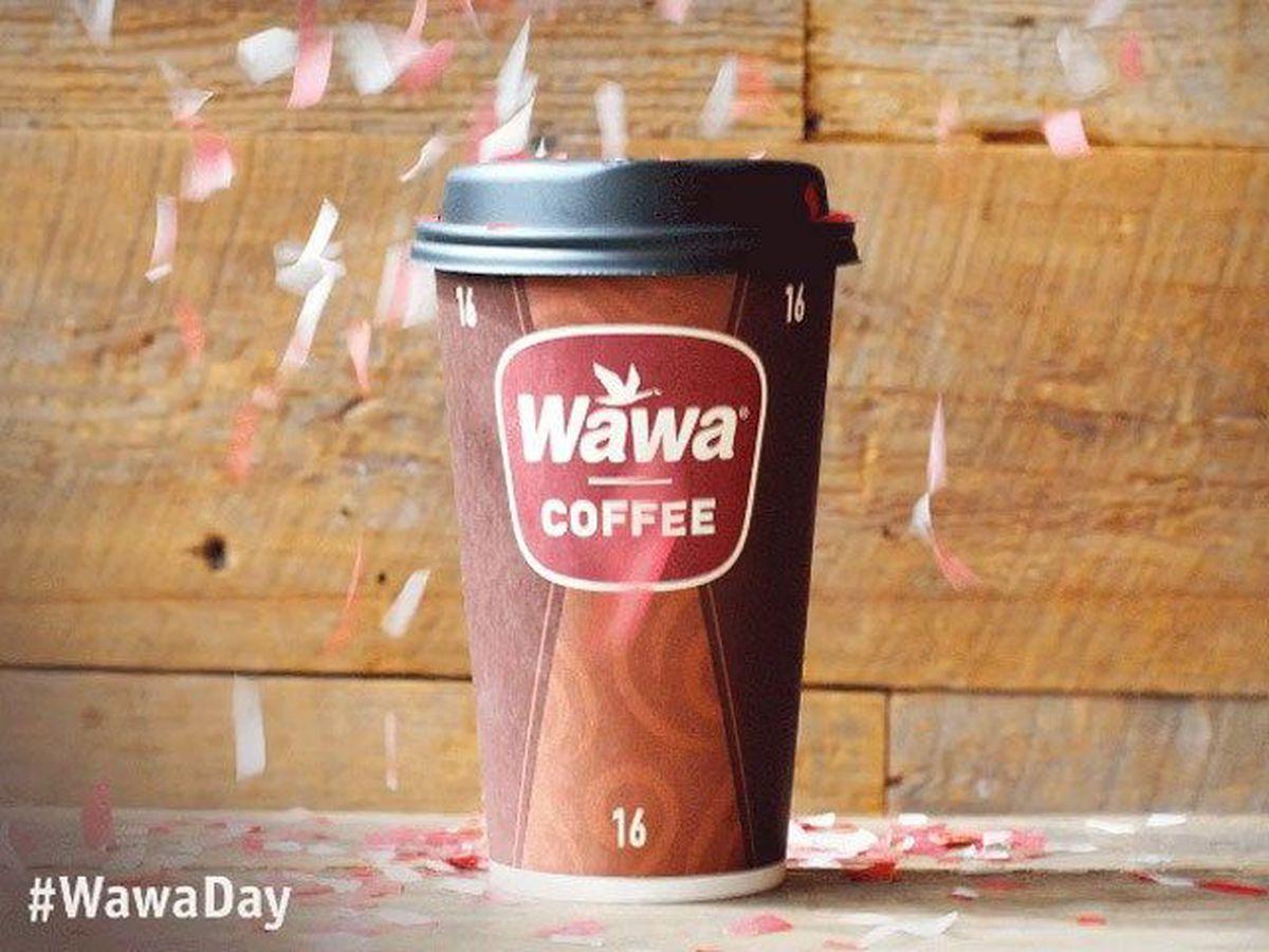 Get FREE coffee at Wawa today