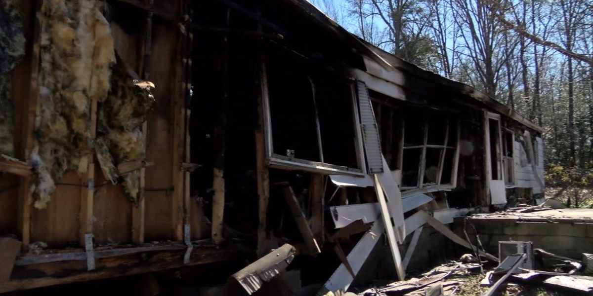 Couple needs help after losing mobile home to fire