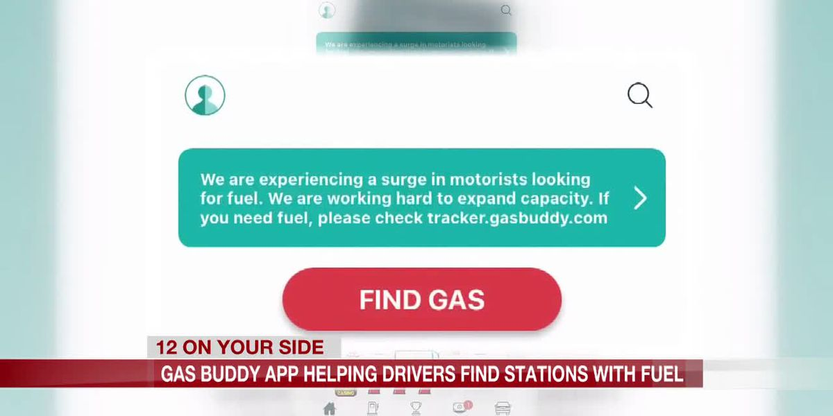 Gas Buddy app helping drivers find stations with fuel