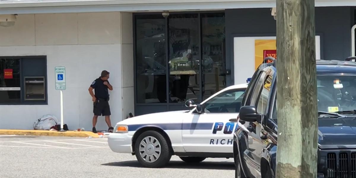 Police: Homeless man breaks into Wells Fargo to take nap