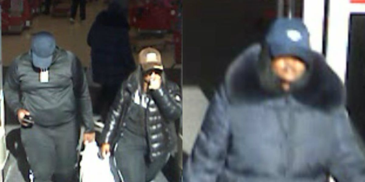 Authorities trying to identify credit card fraud, larceny suspects
