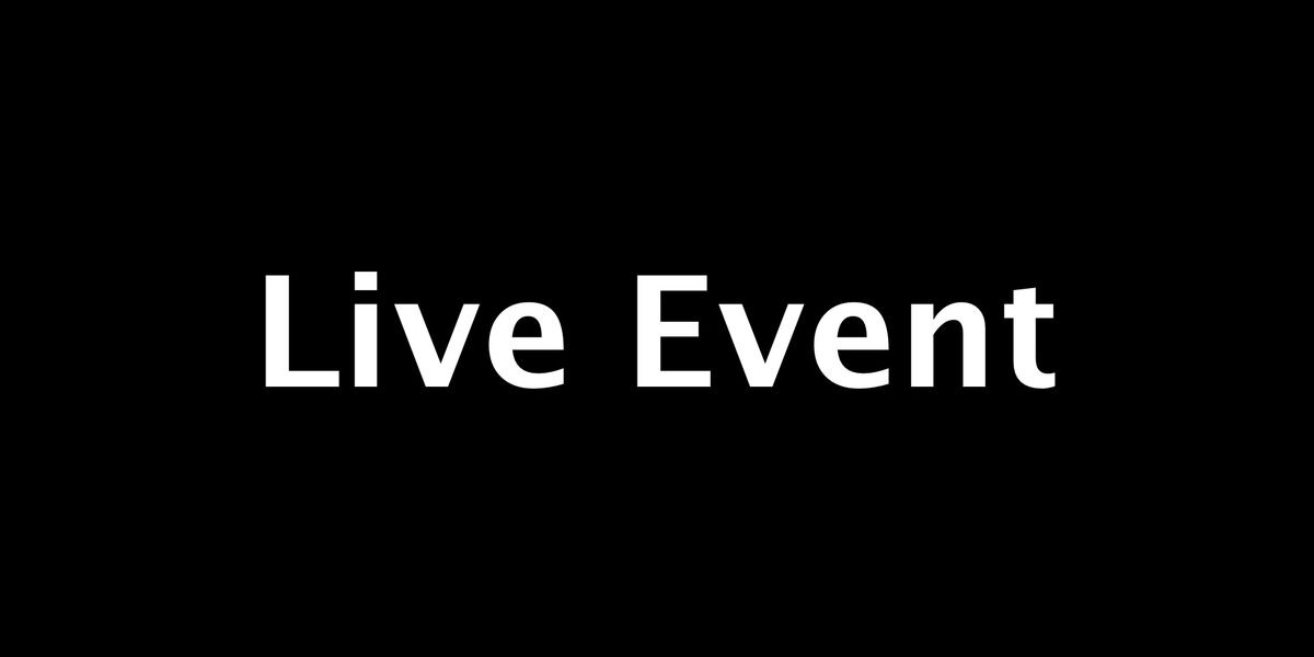 live event - test