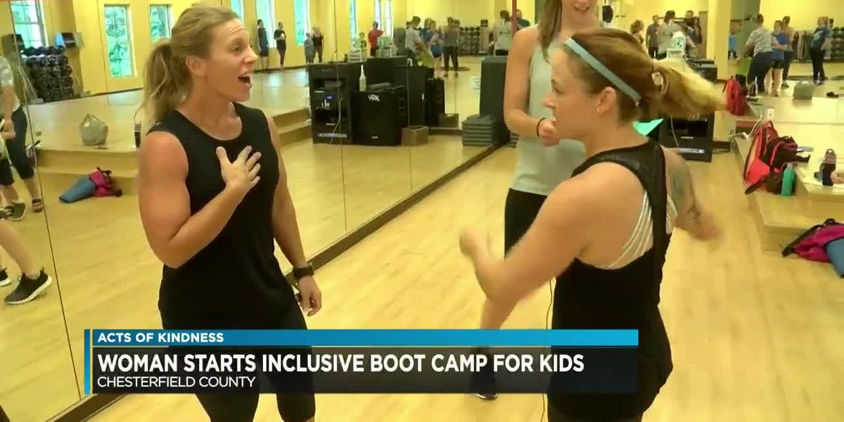 Fitness instructor awarded for helping children with special needs