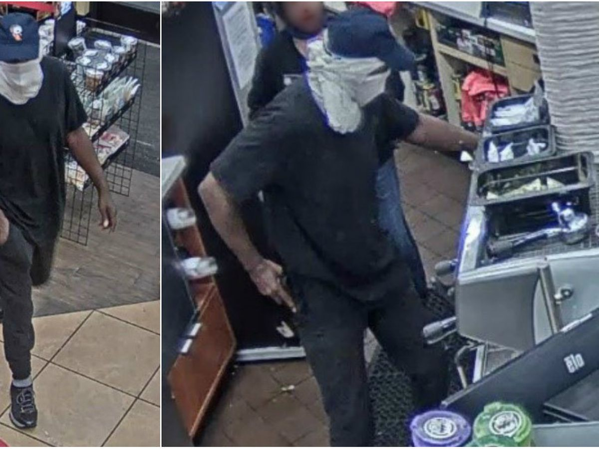 Caught on Camera: Police searching for man who robbed Chesterfield gas station at gunpoint