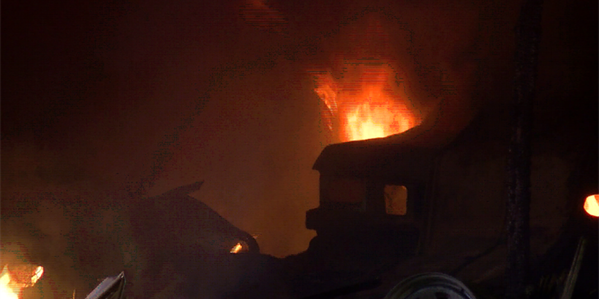 High winds blamed for spreading blaze that injured Chesterfield firefighter
